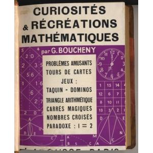 CURIOSITES & RECREATIONS MATHEMATIQUES