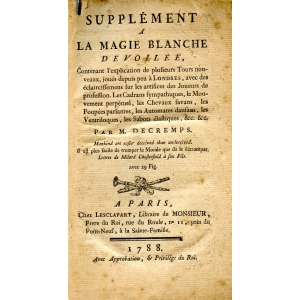 SUPPLEMENT A LA MAGIE BLANCHE DEVOILEE