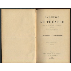 LA SCIENCE AU THEATRE