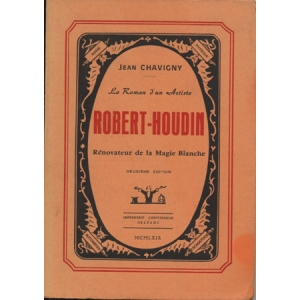 LE ROMAN D'UN ARTISTE ROBERT-HOUDIN