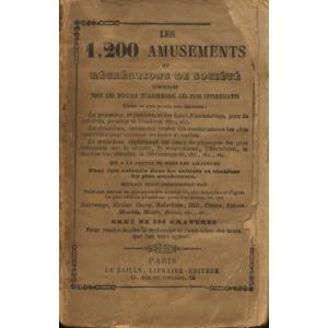 1200 AMUSEMENTS ET RECREATIONS DE SOCIETE (LES)