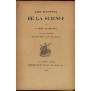LES MIETTES DE LA SCIENCE