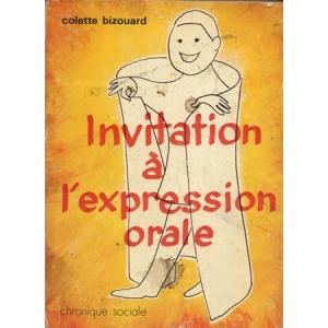 INVITATION A L'EXPRESSION ORALE