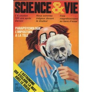 SCIENCE ET VIE – PARAPSYCHOLOGIE : L'IMPOSTURE A LA TELE