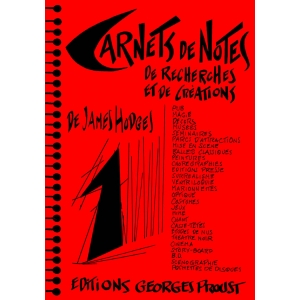 James Hodges, Carnets de Notes Tome 1