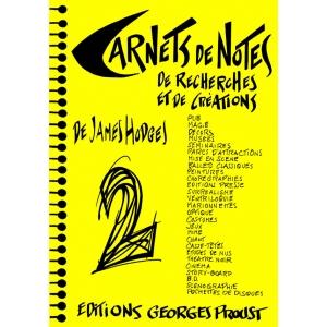 CARNETS DE NOTES, TOME 2