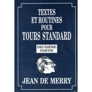 TEXTES ET ROUTINES POUR TOURS STANDARD