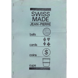BALLS - CARDS - COINS - CUPS, SWISS MADE Jean-Pierre