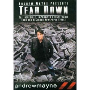 DVD TEAR DOWN (Andrew Mayne)