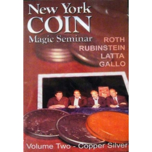 DVD NEW YORK COIN Magic Seminar Volume 2 (Copper Silver)