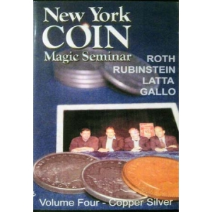 DVD NEW YORK COIN Magic Seminar Volume 4 (Copper Silver)