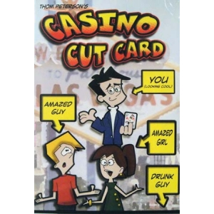 DVD CASINO CUT CARD Thom Peterson