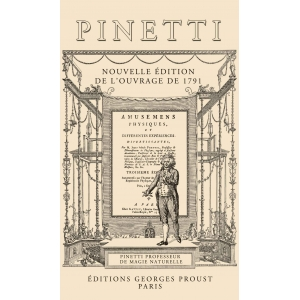 Pinetti, Amusemens Physiques