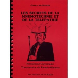 SECRETS DE LA MNEMOTECHNIE ET DE LA TELEPATHIE, KLINGSOR Claude