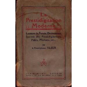 PRESTIDIGITATION MODERNE (LA), ALBER