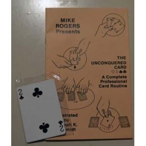 THE UNCONQUERED CARD (MIKE ROGERS)