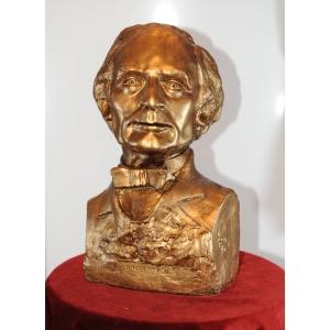 Buste de Robert-Houdin, par Henry Pou