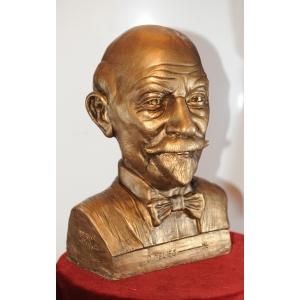 Buste de Méliès, par Henry Pou