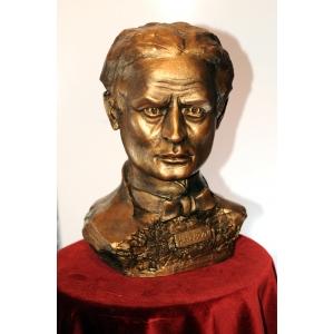 Buste de Houdini, par Henry Pou