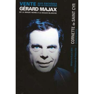 CATALOGUE DE LA VENTE AUX ENCHERES - GERARD MAJAX