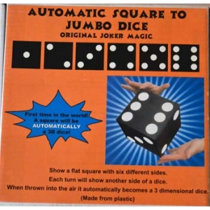 AUTOMATIC SQUARE TO JUMBO DICE (Joker MAGIC)