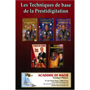 Pack DVD - Intiation à la magie