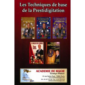 Pack DVD - Intiation à la magie