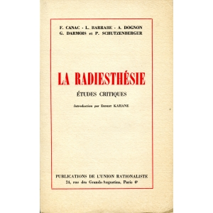F. CANAC – L. BARRABE – A. DOGNON - G.DARMOIS et P. SCHUTZENBERG