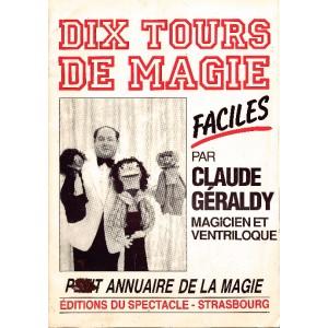 DIX TOURS DE MAGIE FACILES