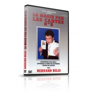 DVD LA MAGIE PAR LES CARTES N° 5 (Bernard Bilis)