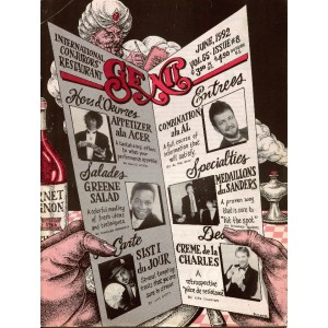 GENII MAGAZINE MAGICIAN CONJURORS  JUNE 1992