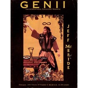 GENII MAGAZINE MAGICIAN CONJURORS FEBRUARY 1994