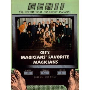 GENII MAGAZINE MAGICIAN CONJURORS MARCH 1994