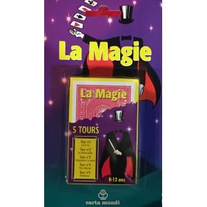 JEU DE MAGIE – 5 TOURS DE CARTES