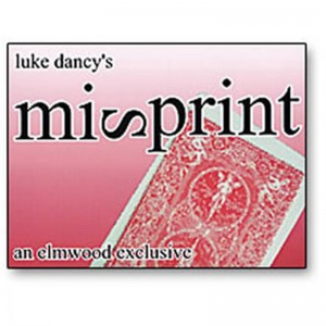 MISPRINT (Luke Dancy)
