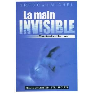 LA MAIN INVISIBLE – GRECO & MICHEL (Livre + Gimmick)