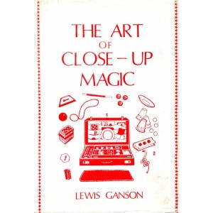 THE ART OF CLOSE-UP MAGIC  VOLUME 1 + VOLUME 2 (Lewis Ganson)