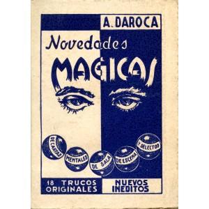 NOVEDADES MAGICAS (A. Daroca)