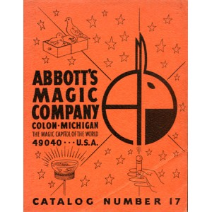 ABBOTT'S MAGIC COMPANY – CATALOGUE NUMBER 17