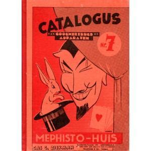 MEPHISTO-HUIS CATALOGUS VAN GOOGHELTRUCS EN APPARATEN – N° 7