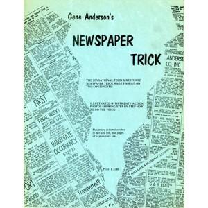 NEWSPAPER TRICK (Gene Anderson)