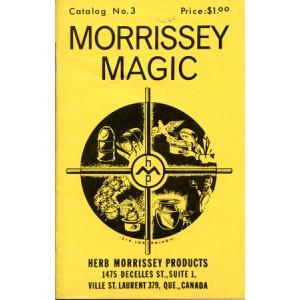 MORISSEY MAGIC – CATALOG No. 3