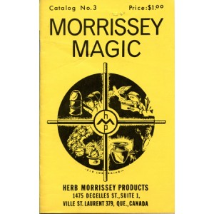 MORISSEY MAGIC – CATALOG No. 3