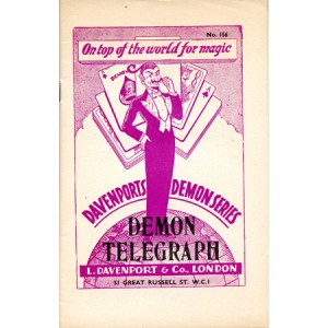 DAVENPORTS DEMON SERIES – DEMON TELEGRAPH N° 156