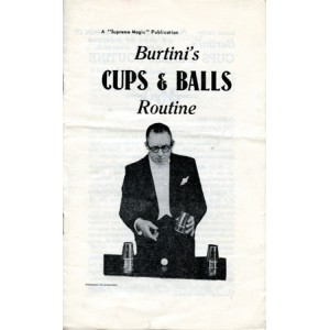 BURTINI'S – CUPS & BALLS ROUTINE