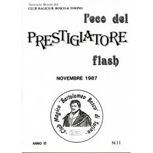 L'ECO DEL PRESTIGIATORE – FLASH – NOVEMBRE 1987 – N. 11