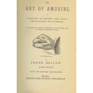 THE ART OF AMUSING (BELLEW Frank)