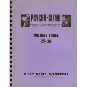 PSYCHO-GIZMO – VOLUME THREE 25-36 (Teral Garrett)