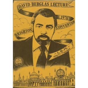 DAVID BERGLAS LECTURE
