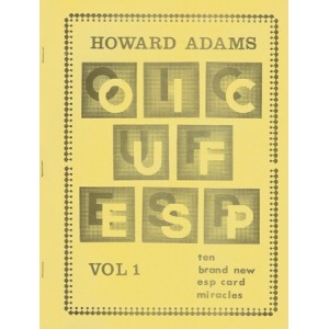 OIC  UF  ESP Vol 1, 2, 3, 5, 6, 7, 8  - The brand new esp card miracles (Howard Adams)